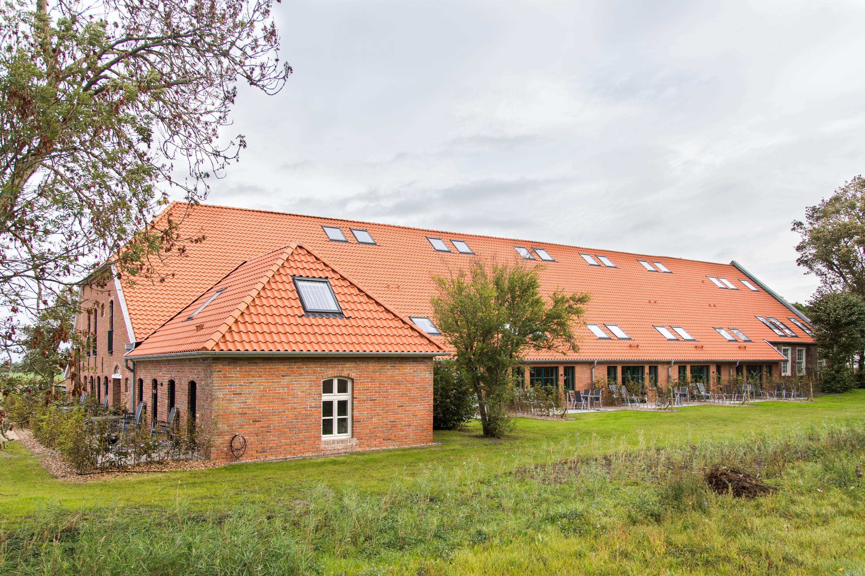 Ferienwohnungen Dornum - Familienurlaub Ostfriesland - Gulfhof Dreybült - Terassen
