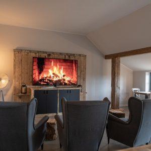 Lounge - Gemeinschaftsraum - TV - Stube Gulfhof Dreybült